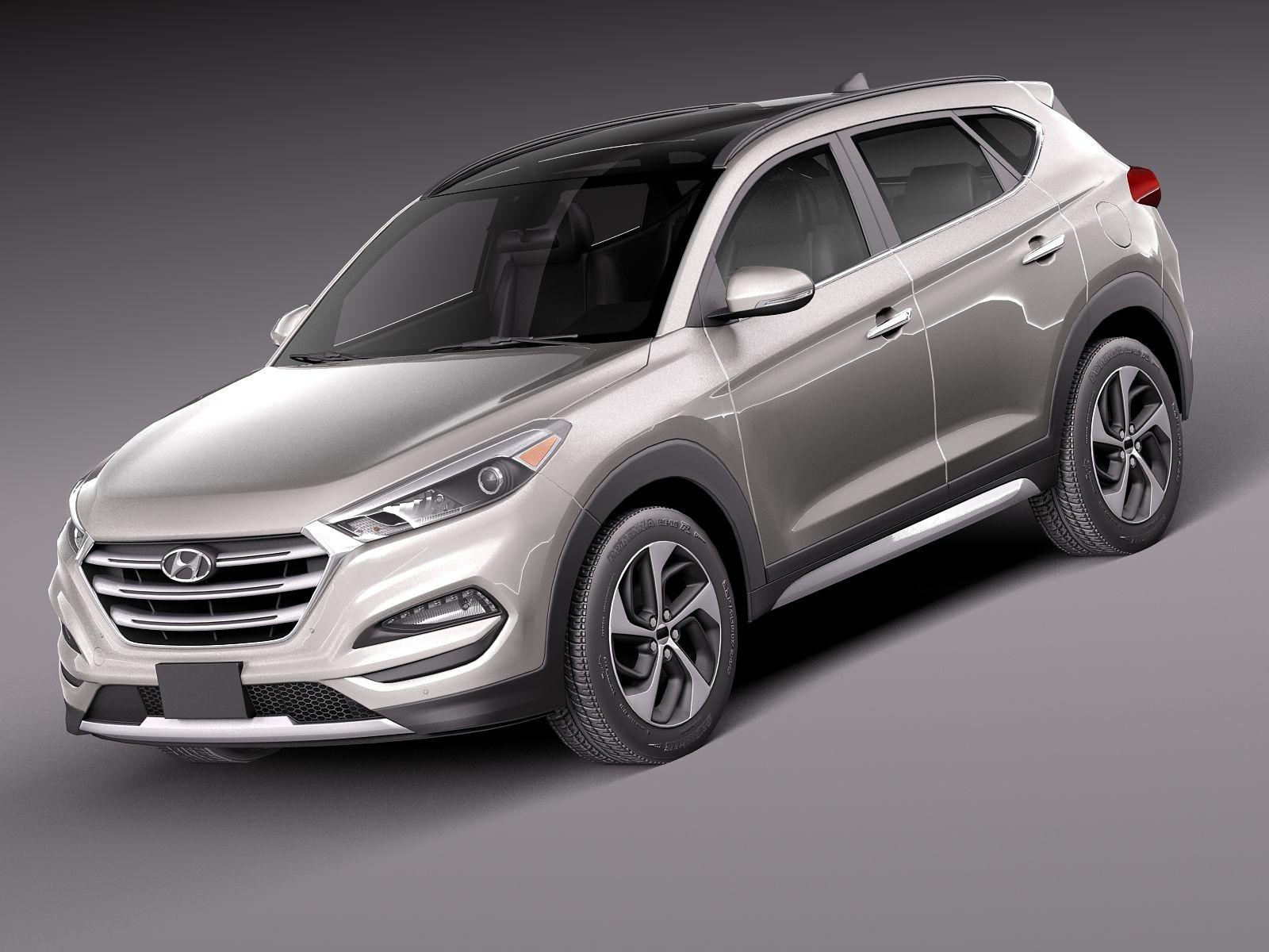 HQ Lowpoly Hyundai Tucson 2016