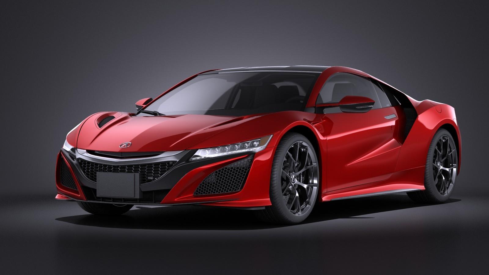 Acura NSX 2016 VRAY
