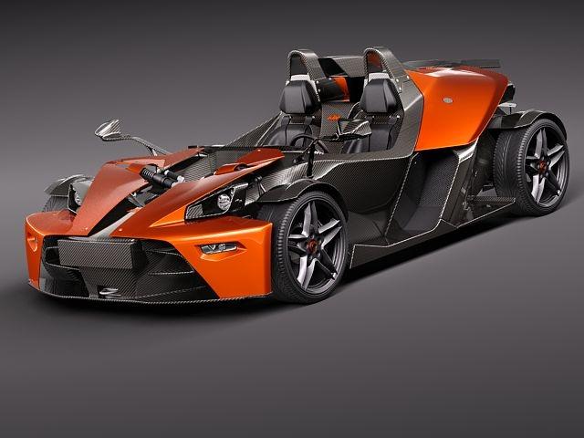 Ktm X-bow Concept Sports Car 3D Model