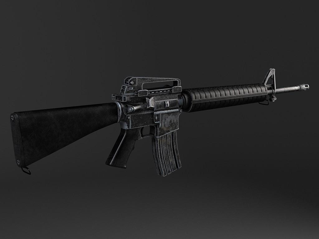 M16 A4 rifle