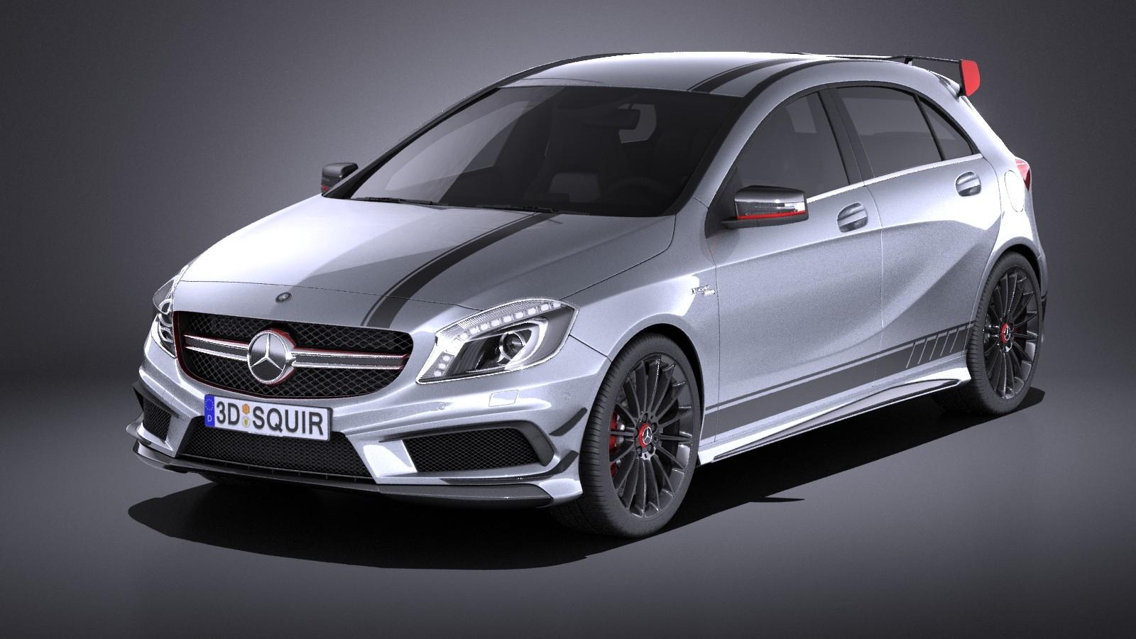 Mercedes-Benz A45 AMG Edition 1 2015 VRAY