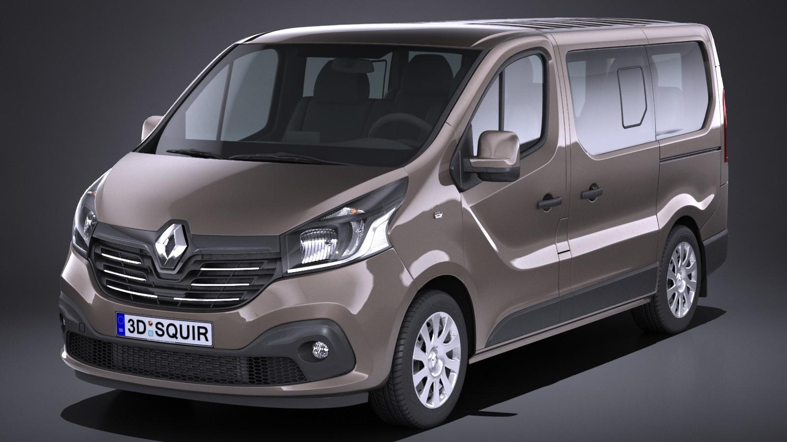 Renault Trafic Passenger 2015-2018