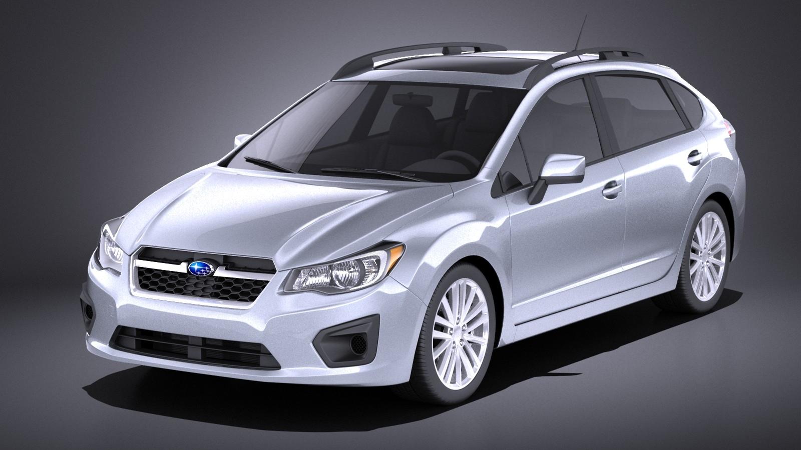 Subaru Impreza 2013 5-door VRAY