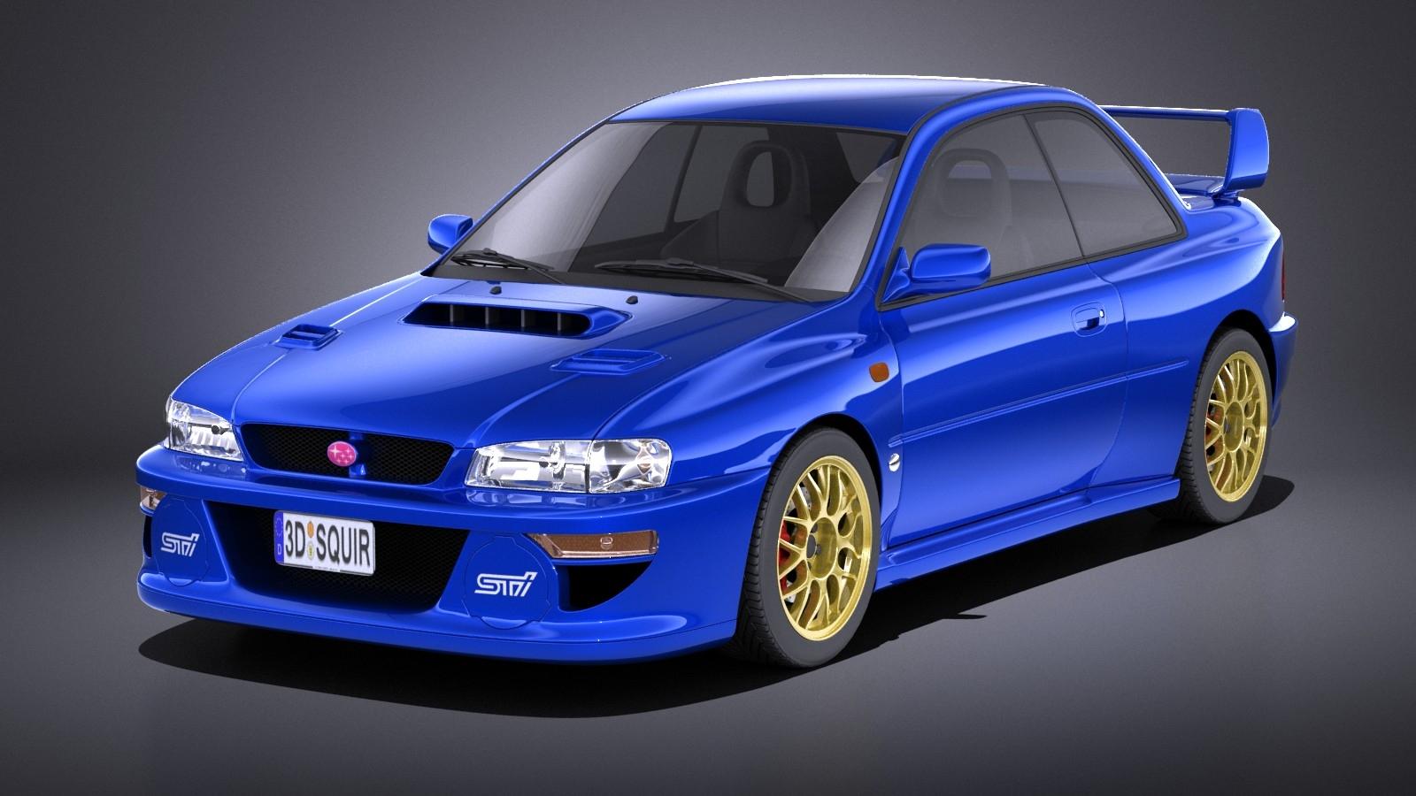 Subaru Impreza STI 22B  1993-2000 VRAY