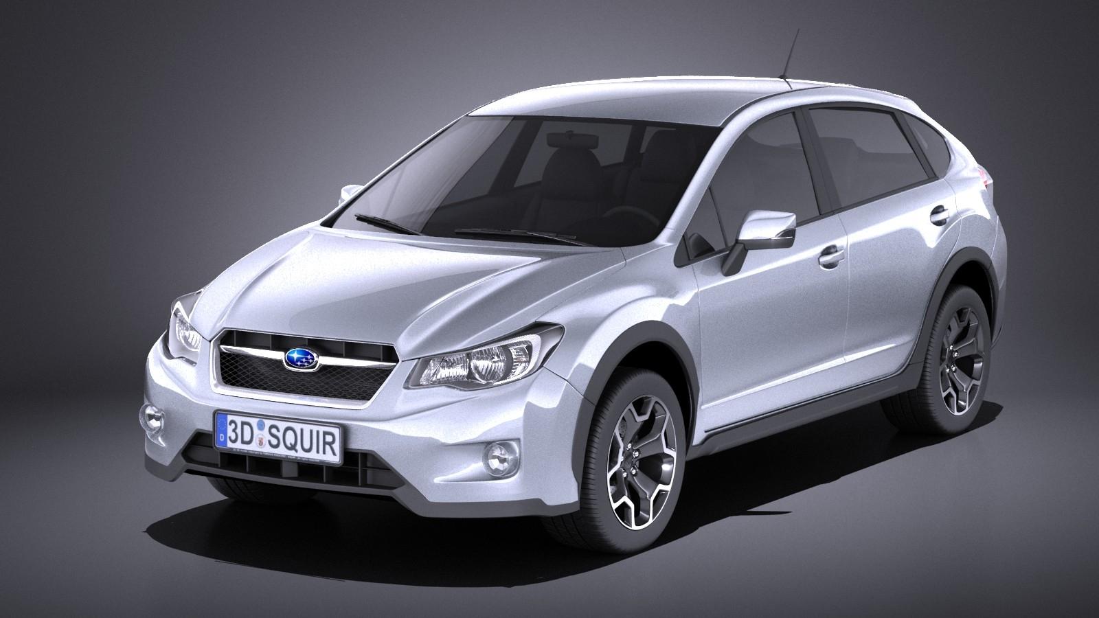 Subaru Impreza XV Crosstrek 2015 VRAY