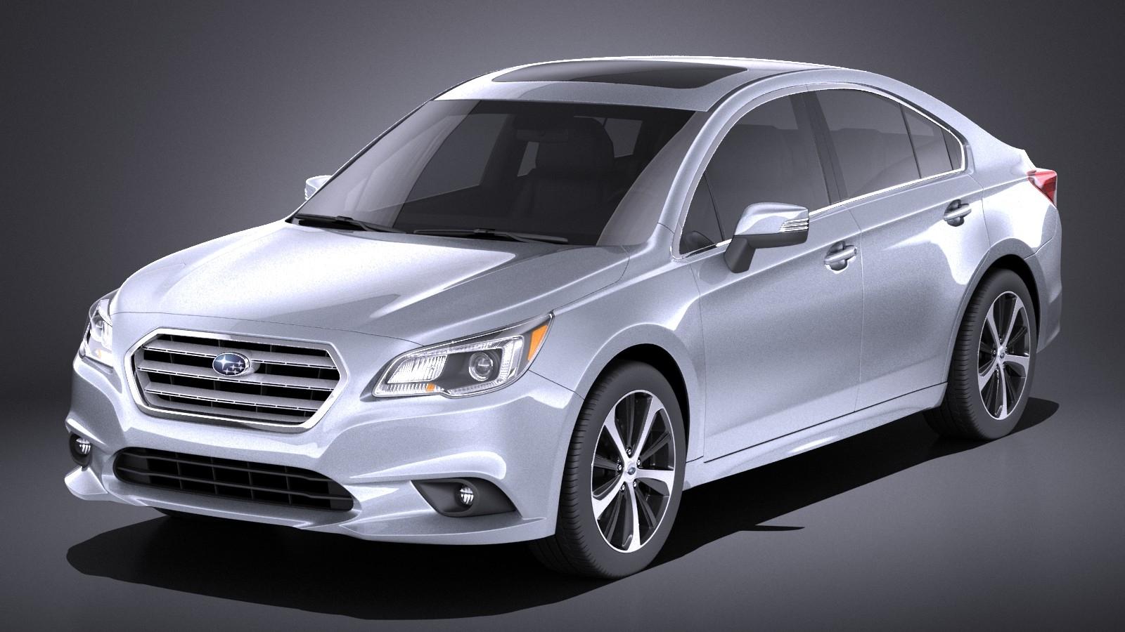 Subaru Legacy 2017 VRAY