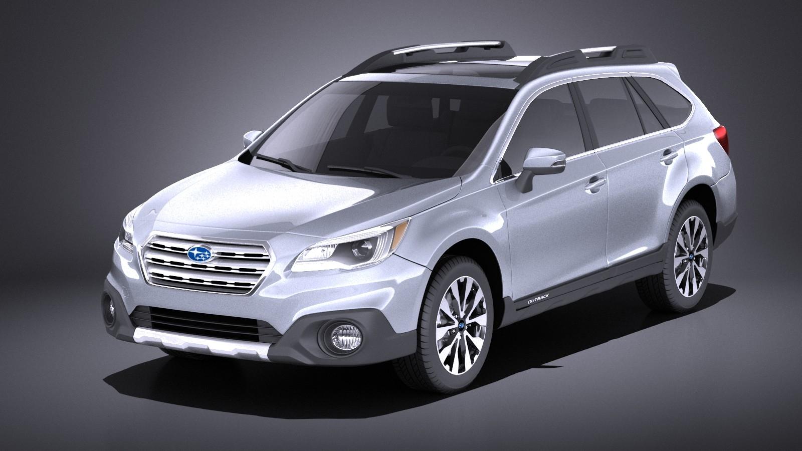 Subaru Outback 2017 VRAY