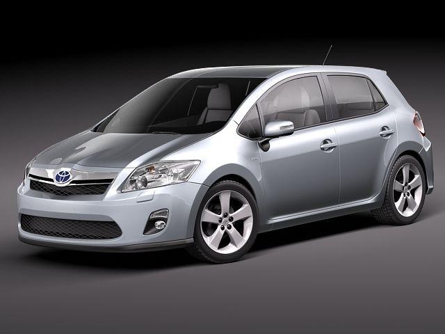 Toyota Auris HSD hybrid 2011 3D Model