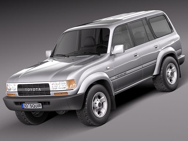 Toyota Land Cruiser J80 1989-1997