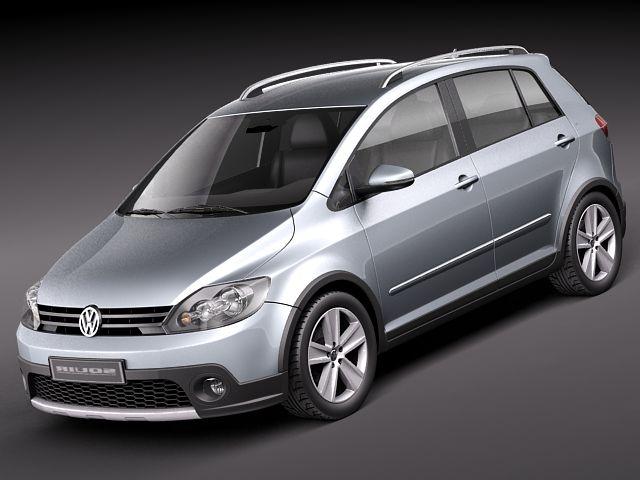 Volkswagen CrossGolf 2011 3D Model